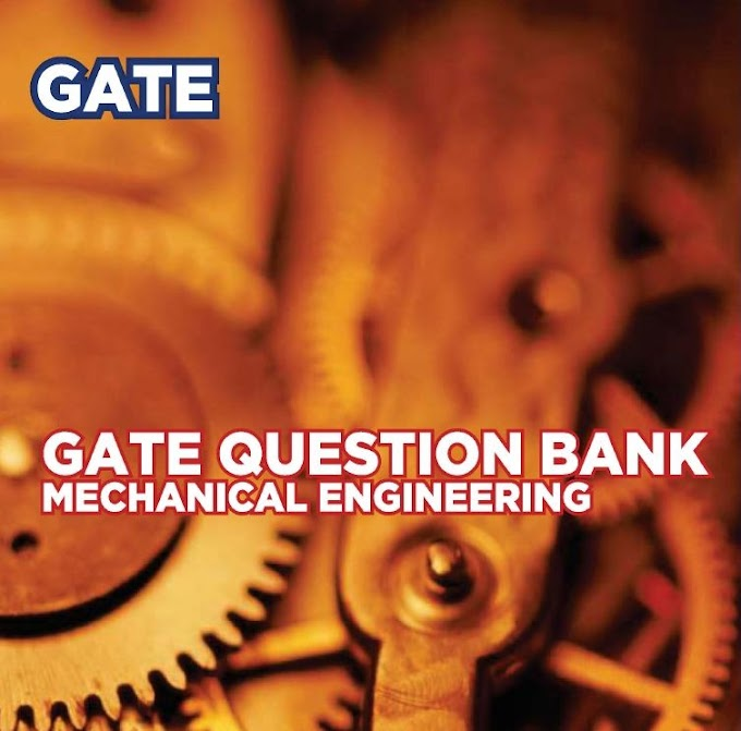 DOWNLOAD GATE QUESTION BANK MECHANICAL ENGINEERING BOOK  [THE GATE ACADEMY] PDF