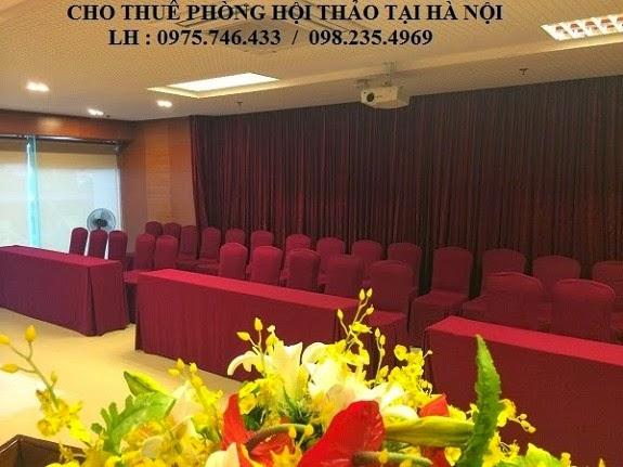 cho thuê phòng hội thảo 50 chỗ tại hà nội