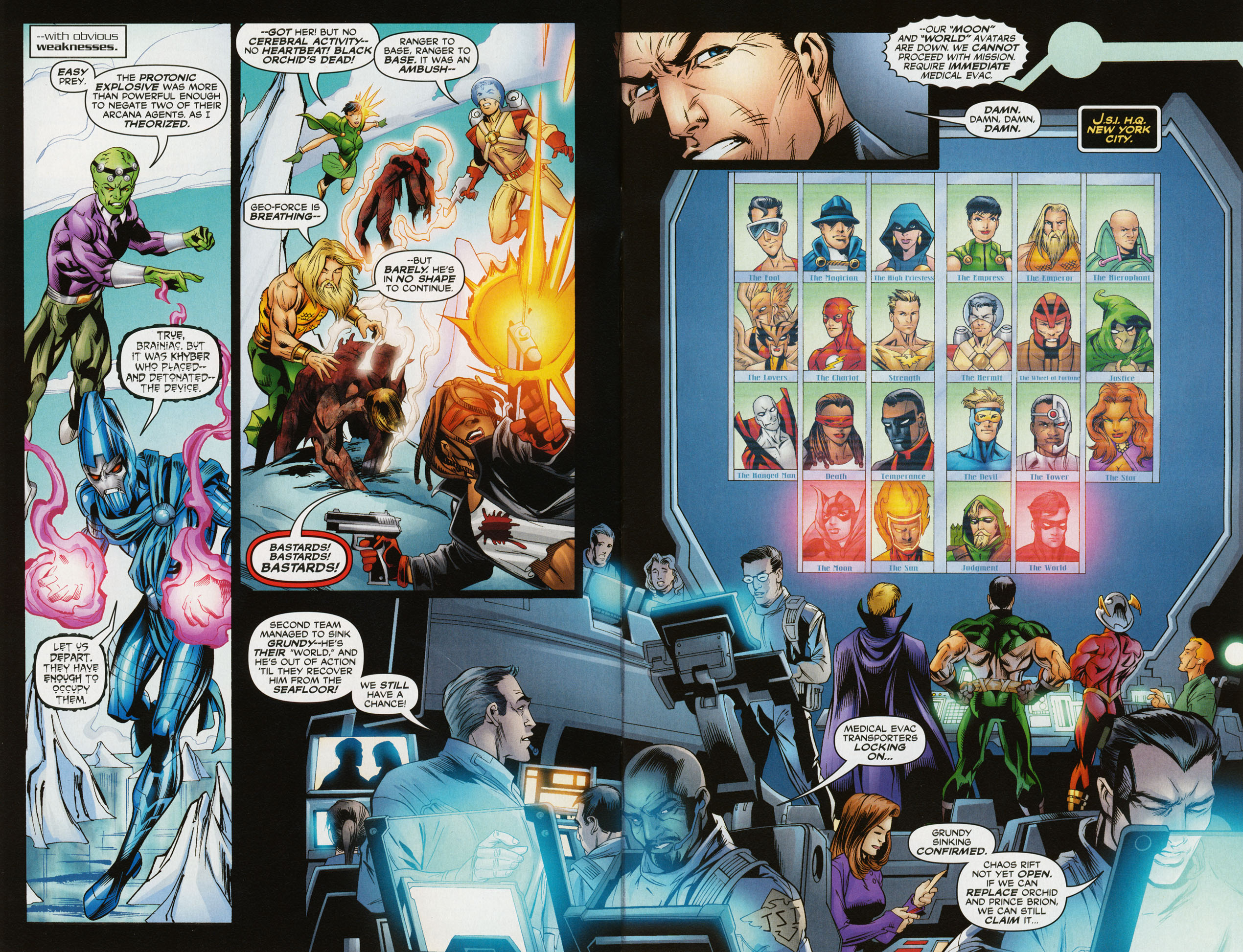 Read online Trinity (2008) comic -  Issue #34 - 4