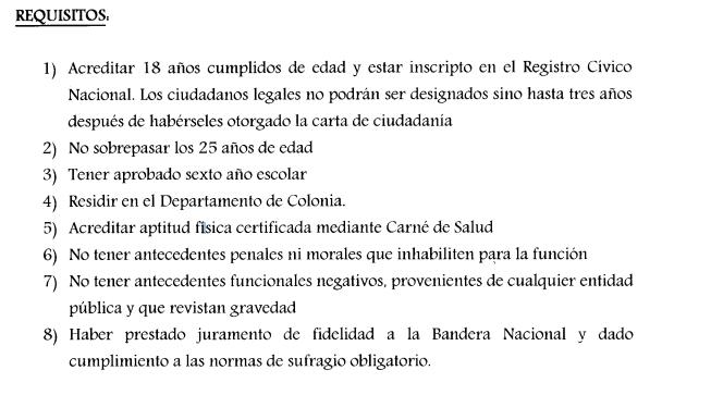 Llamado Ceip Auxiliares De Servicio Para Colonia Agosto