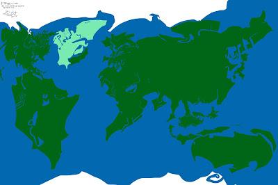 Fictional Earth Map