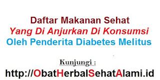Daftar makanan sehat penurun kadar gula darah/Diabetes DIANJURKAN