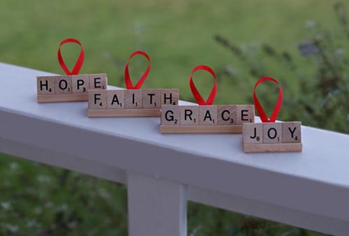 Christmas Craft Name Ornament Kids Hope Usa