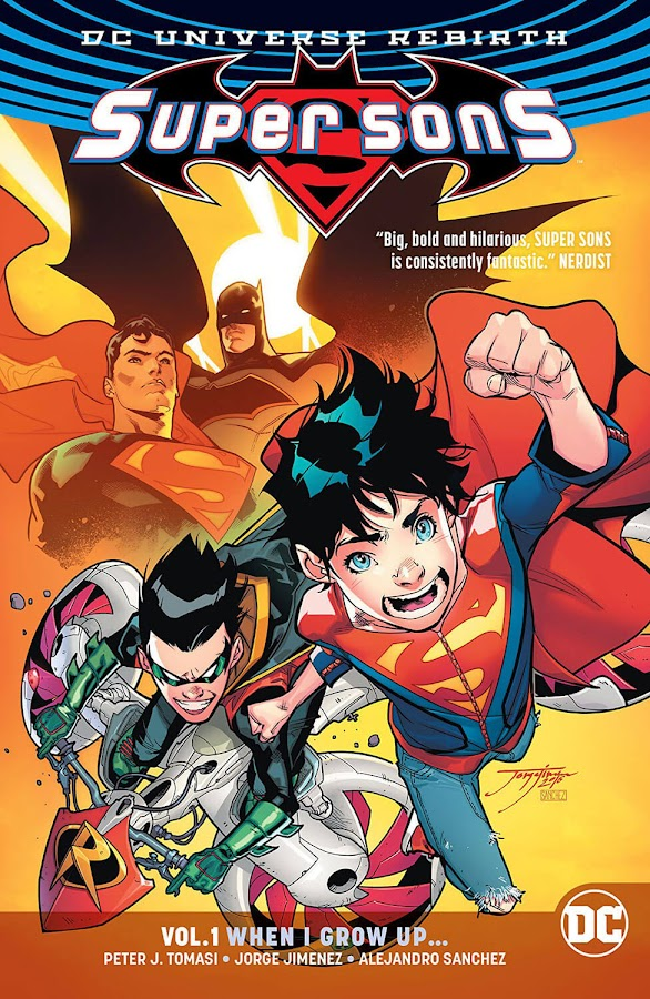super sons dc rebirth