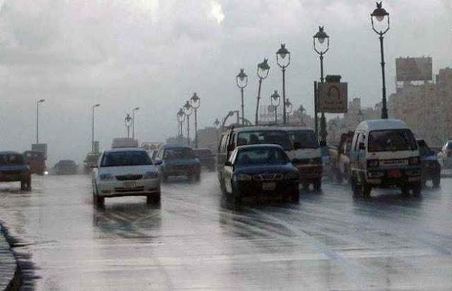 توقعات درجات الحرارة فى مصر