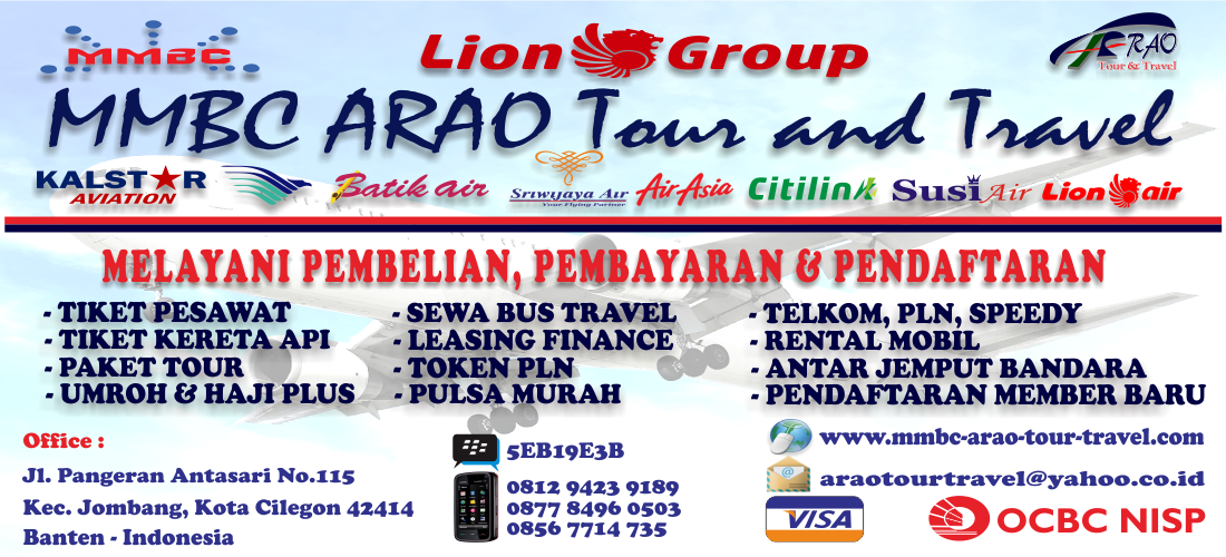 Layanan MMBC ARAO Tour and Travel