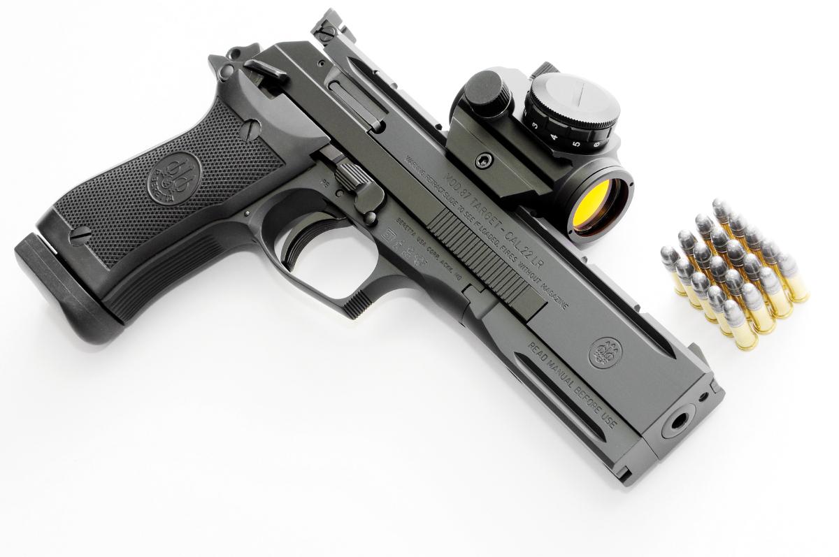 Full Of Weapons: Beretta 87 TARGET, 22LR
