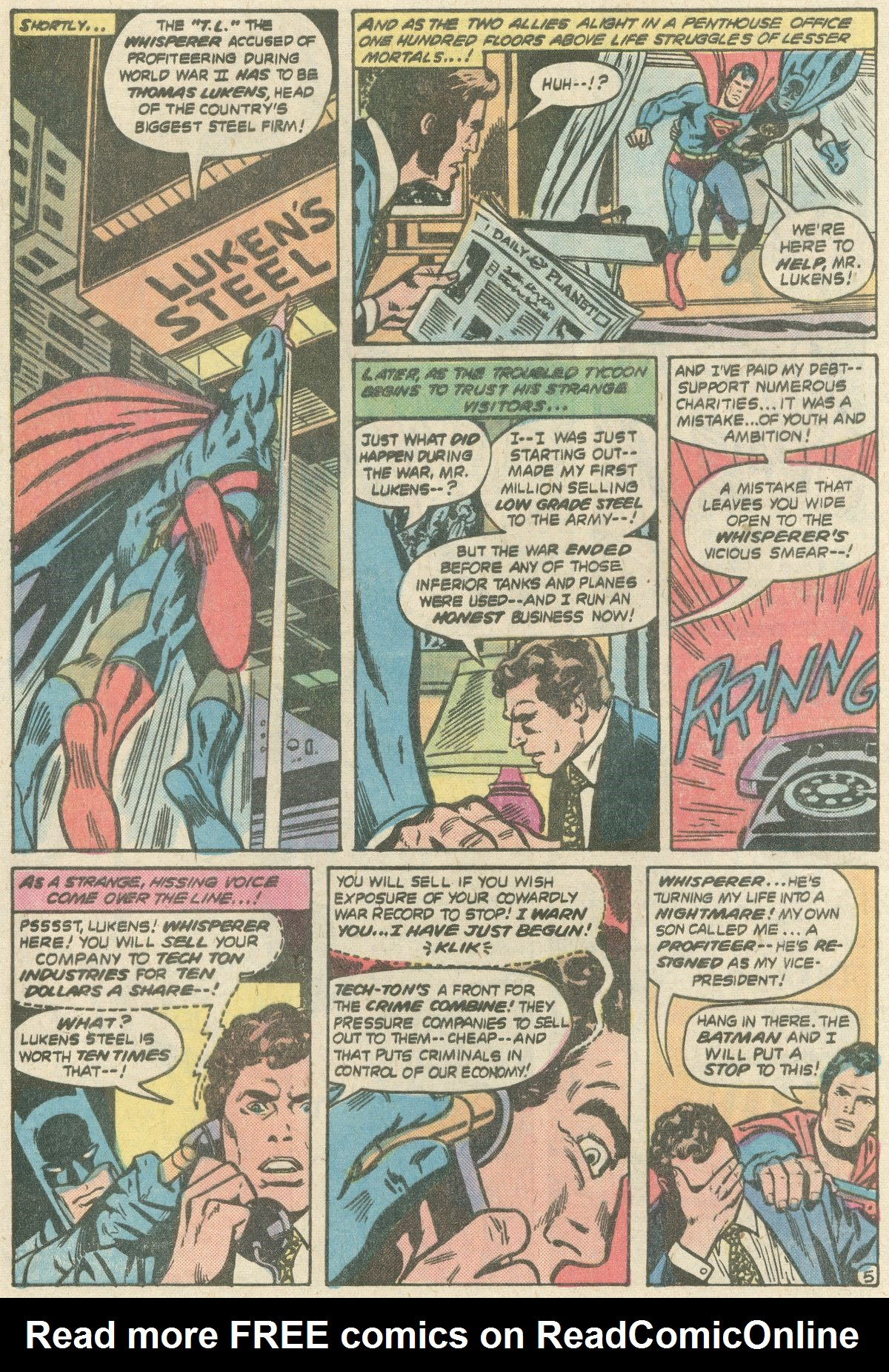 Read online World's Finest Comics comic -  Issue #252 - 9