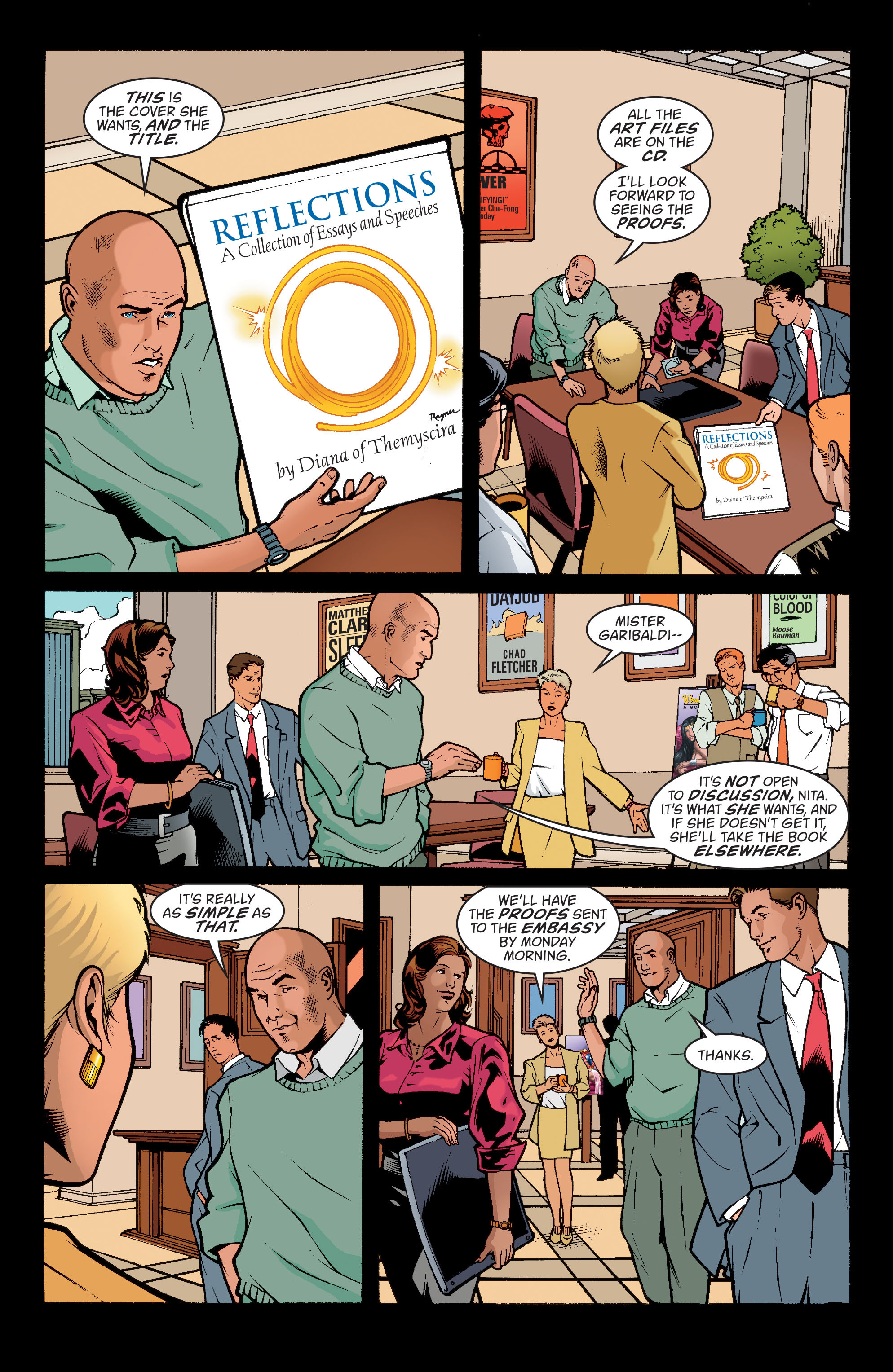 Read online Wonder Woman (1987) comic -  Issue #195 - 11
