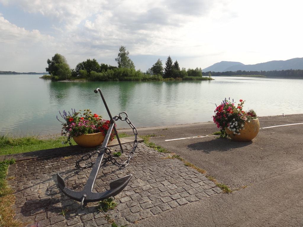 Forggensee, passeio de barco pelo lago