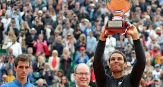 TENIS (Masters 1000 Montecarlo 2017) - Rafa Nadal el rey de la tierra, consigue su 10º Montecarlo