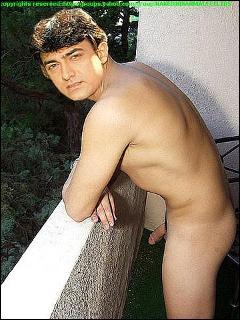 Aamir Khan nude cock