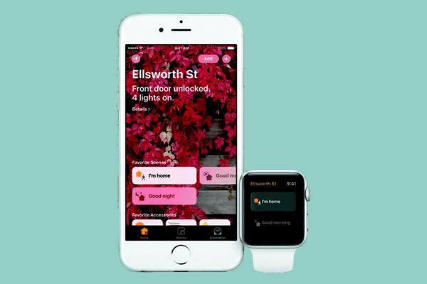 HomeKit pengguna di iOS 10