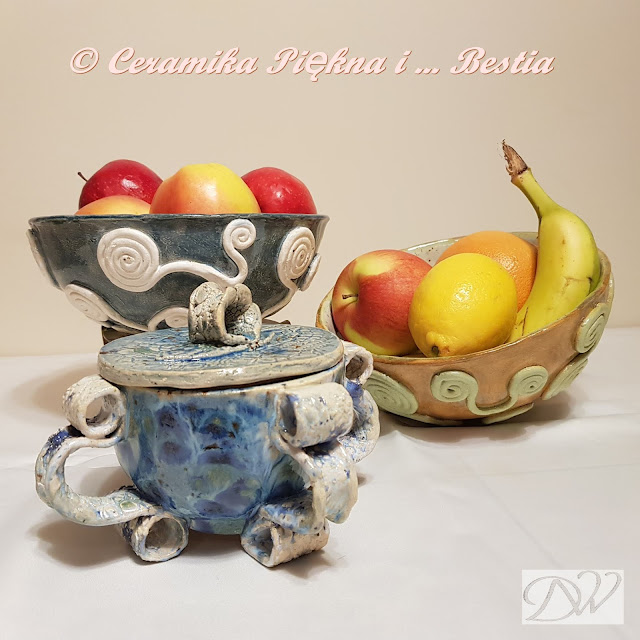 Ceramika użytkowa – misy, miseczki, misunie c.d.