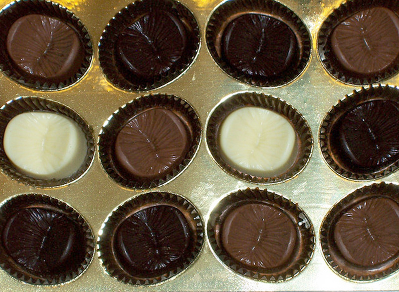 фото шоколадного глазика истории