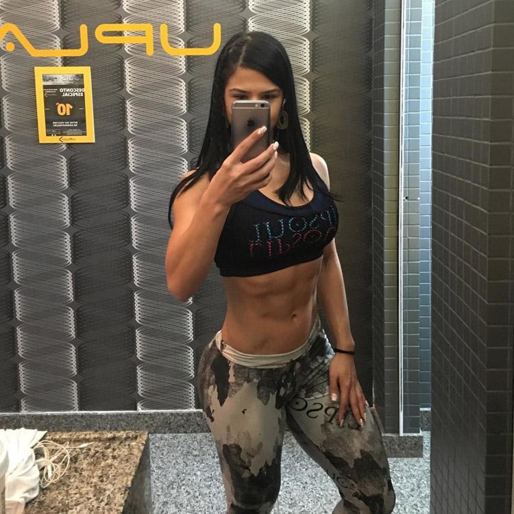 Fitness Models Eva Andressa