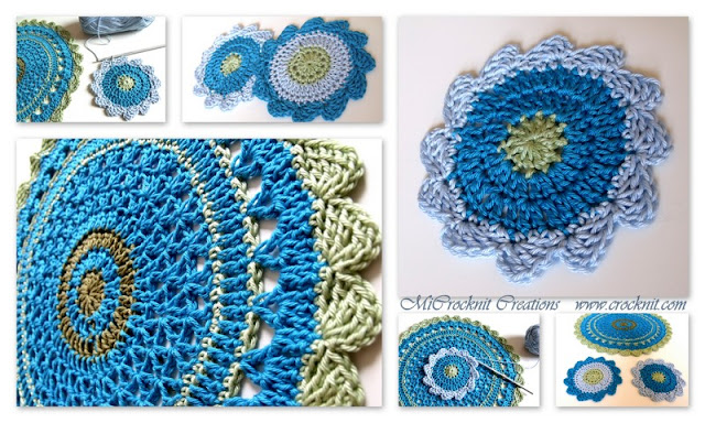 free crochet patterns, how to crochet, coasters,