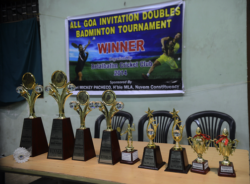 All Goa Invitation Doubles Badminton Tournament Was