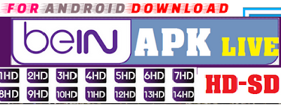 Download Android BeinSports(Pro) Apk For Android - Watch All BeinSports Channel On Android