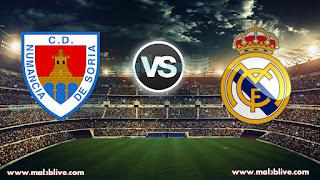 مشاهدة مباراة ريال مدريد ونومانسيا Real madrid Vs Cd Numancia بث مباشر بتاريخ 10-01-2018 كأس ملك إسبانيا