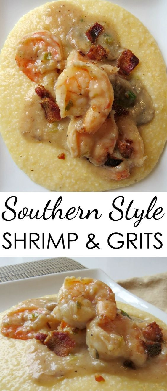 EASY SHRIMP GRITS RECIPE