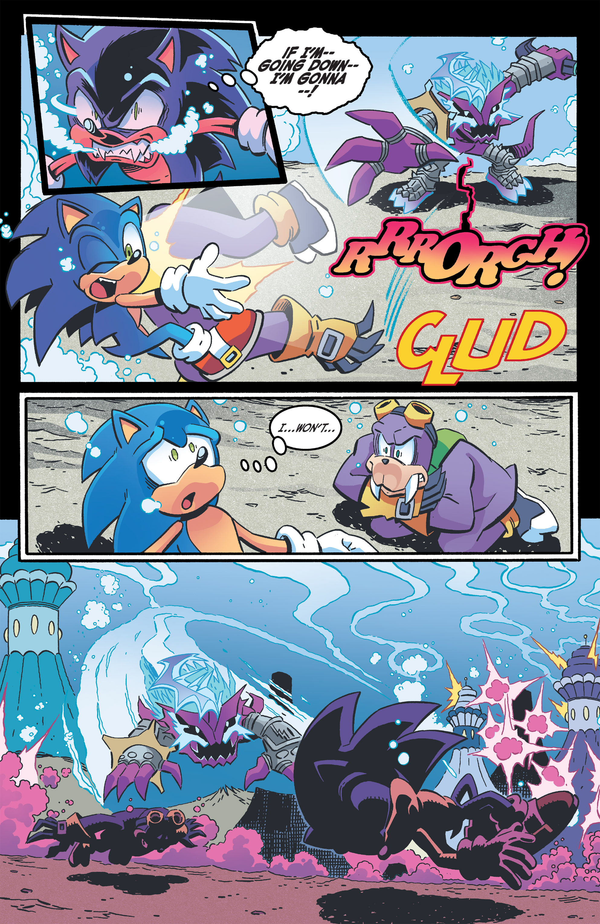 Read online Sonic The Hedgehog comic -  Issue #263 - 4