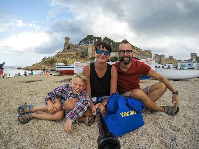 Wakacje na kempingu z Vacansoleil, Vacansoleil opinie, kemping europa, podróże z dzieckiem, podróże po europie, tossa de mar, hiszpania z dzieckiem