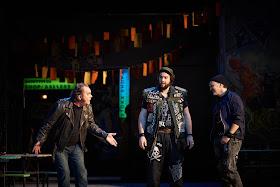 Verdi: Falstaff - Michael Volle, Jan Martiník, Stephan Rügamer  - Staatsoper Berlin (Photo: Matthias Baus)