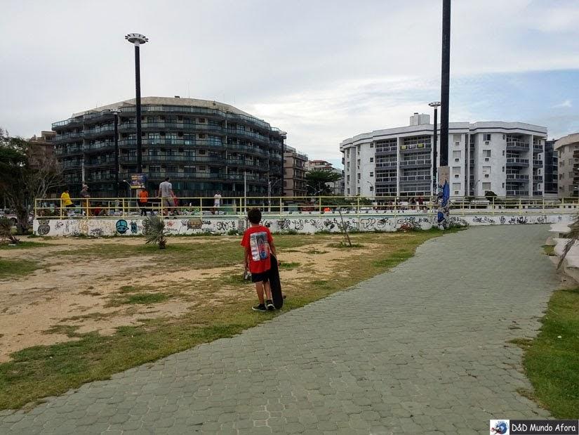 O que fazer em Cabo Frio - Pits de Skate Praia do Forte - Rio de Janeiro