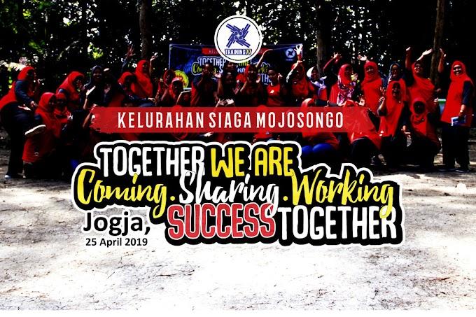Outbound Team Building Tim Kelurahan Siaga Mojosongo Surakarta
