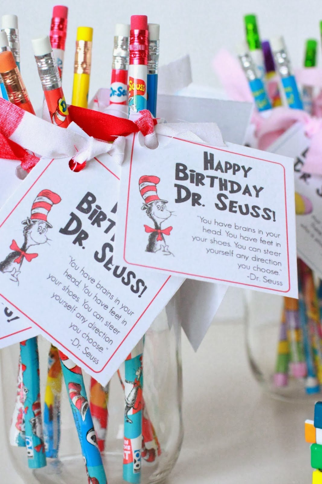 Larissa Another Day Happy Birthday Dr Seuss Tags Printable