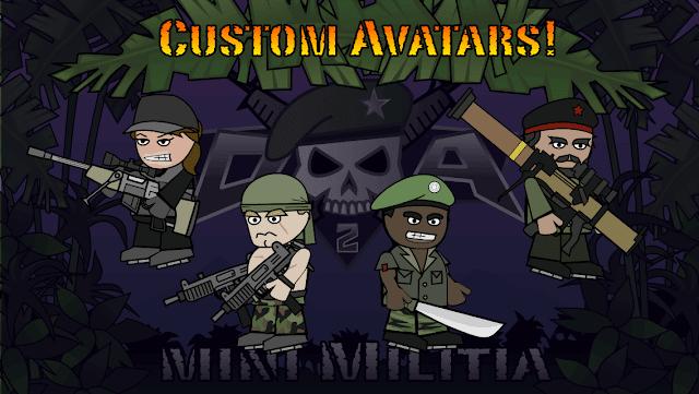 لعبه doodle army 2 mini militia مهكره تحميل
