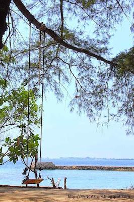 Spot berfoto di Pulau Bulat