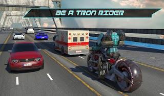 Games Futuristic Robot Tron Rider App