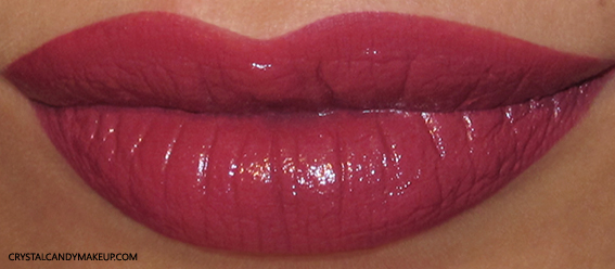 Pupa I'm Lipstick Review 107 Litchi Swatch