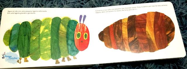 Uma lagarta muito comilona petitebook