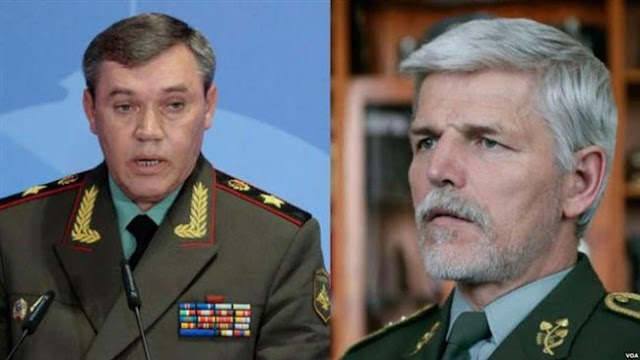 Russian and NATO commanders meet amid tensions over war games