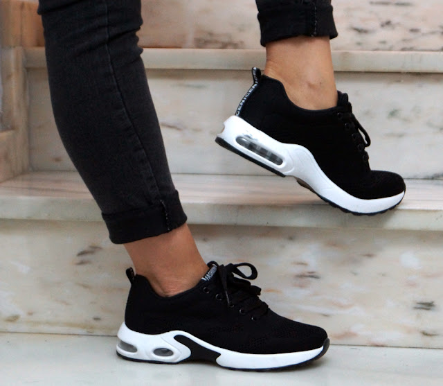 Black-Air-Cushion-Mesh-Breathable-Athletic-Shoes