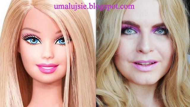 Makijaż: BARBIE DOLL makeup :)