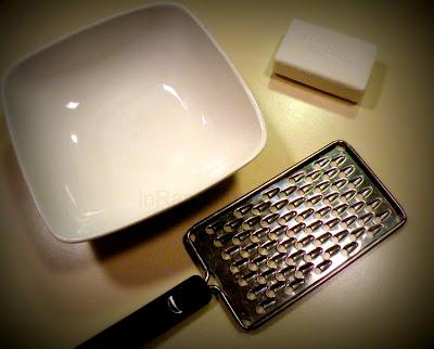 Tools for Soap Snowmen Craft