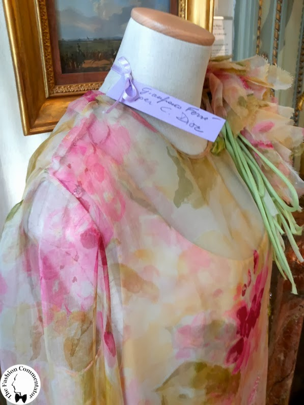 Valentina Cortese - Mostra Milano - Gianfranco Ferré pour Christian Dior