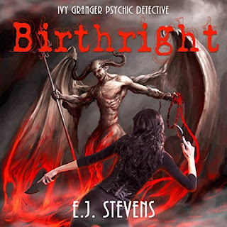 Birthright Ivy Granger Psychic Detective Award Winning Urban Fantasy Audiobook by E.J. Stevens