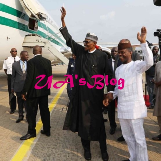 Checkout President Buhari's Birthday Message To Osinbajo At 61