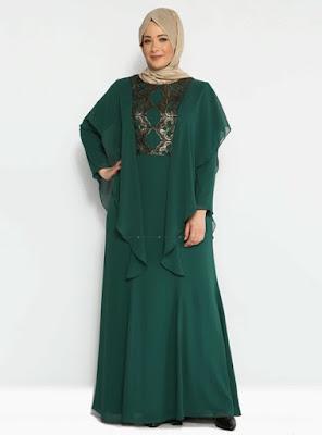 Baju Gamis Batik untuk Orang Gemuk dan Pendek ini Bikin Kamu Tampil Pede