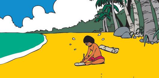 Ba cha con (bộ mới) phần 21: Tạo ra lửa trên đảo hoang