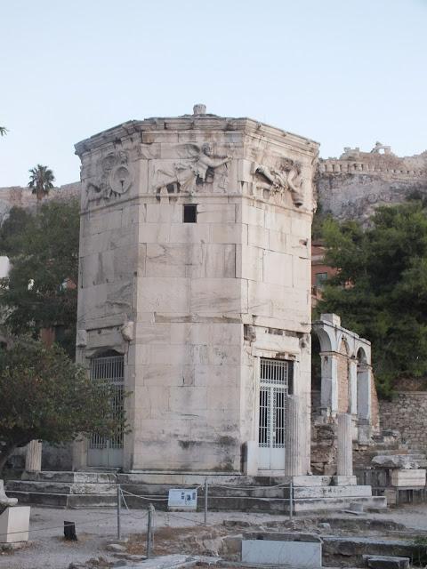 Torre de los vientos Atenas