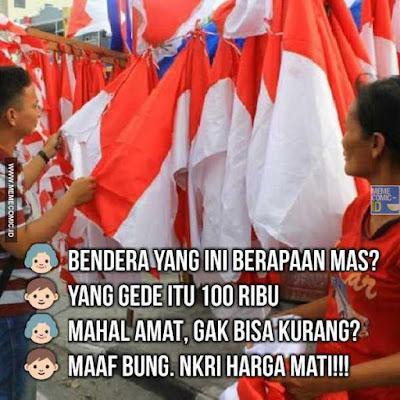 7 Meme 'Hari Kemerdekaan' Ini Ceriakan Hatimu yang Masih Dijajah Kenangan