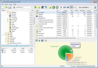 Download Folder Size 2.0 ( Software Untuk Melihat Ukuran Semua File )