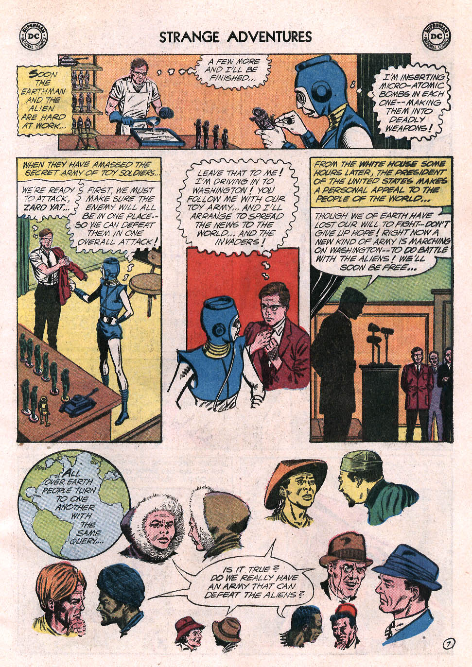Strange Adventures (1950) issue 137 - Page 9
