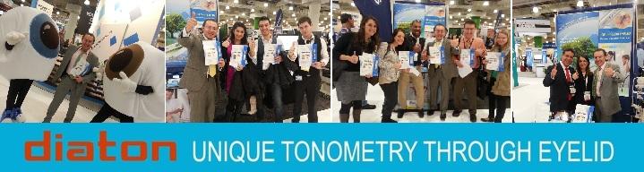 tonometer diaton - tucmbs up at vision expo